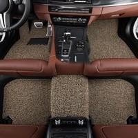 德盾 专车专用丝圈脚垫 米棕色