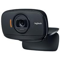 Logitech 罗技 B525 台式电脑笔记本人脸识别自动对焦带麦克风网络高清摄像头 (黑色、1080P)