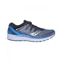 saucony 圣康尼 GUIDE ISO 2 男款次顶级稳定跑鞋 (蓝色、38)