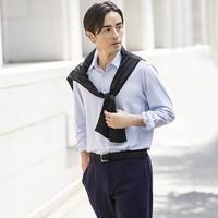 UNIQLO 优衣库 421861 男士精纺针织衬衫