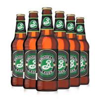 BROOKLYN 布鲁克林 拉格啤酒 355ml*6瓶 *2件 +凑单品