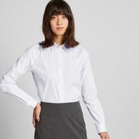 UNIQLO 优衣库 421417 SUPIMA COTTON 女士弹力条纹衬衫