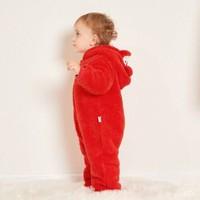 巴拉巴拉婴儿衣服新生儿宝宝连体衣冬哈衣爬服婴幼儿连体服