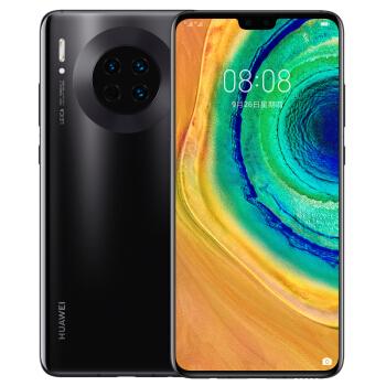 华为 HUAWEI Mate 30 智能手机 (6G、128GB、全网通、亮黑色)