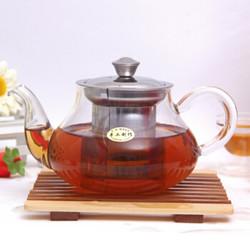 高硼硅玻璃茶壶 400ml