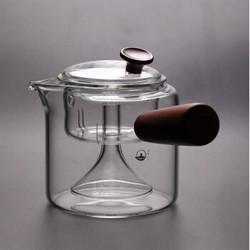 榕力 侧把过滤煮茶器
