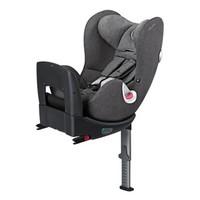 德国 cybex/赛百适 汽车儿童安全座椅sirona plus 0-4岁 360度旋转 曼哈顿灰