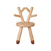 Colourful Tree 七彩树儿童家具动物系列小鹿椅子实木儿童椅