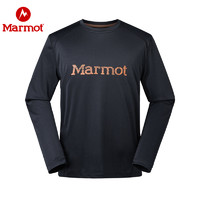 Marmot/土拨鼠2019秋冬新款男士速干长袖T恤 轻量透气针织 防晒速干长袖T恤n