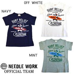 针工作OFFICIAL TEAM SURF BELIEF T-SHIRTS短袖T恤