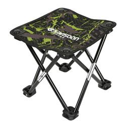 凯速折叠椅便携式小凳子 简易钓鱼椅 户外休闲马扎 多功能小马扎  迷彩绿 XMZ35