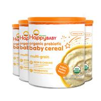 HAPPYBABY 禧贝 有机混合谷物米粉 198g 4罐装