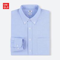 UNIQLO 优衣库 404395 男款牛津纺修身衬衫