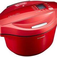 夏普 Sharp 热 Cook 无水自动烹饪锅系列 红色