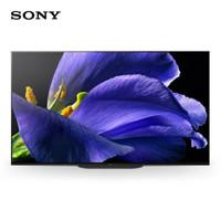 SONY 索尼 KD-65A9G HDR 智能网络 超薄全面屏 OLED电视 人工智能语音 (黑色、65英寸、4K超高清(3840*2160))