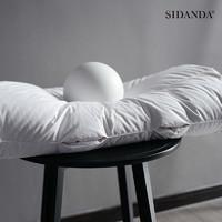 SIDANDA 诗丹娜 SDPG015 95羽绒枕颈椎枕头白鹅绒枕单人枕