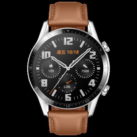 华为/HUAWEI WATCH GT 2 麒麟芯片强劲续航智能手表手环运动防水通话音乐