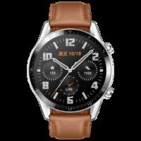 华为 HUAWEI WATCH GT 2 智能手表 (砂砾棕、时尚版)