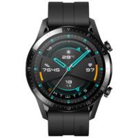 HUAWEI 华为 WATCH GT 2 智能手表 46mm 曜石黑 运动版