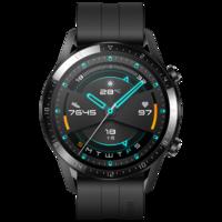 HUAWEI WATCH GT2 华为手表 运动智能手表 两周长续航/蓝牙通话/血氧检测/麒麟芯片 华为gt2 46mm 曜石黑