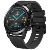 百亿补贴:HUAWEI 华为 WATCH GT 2 智能手表 46mm 运动版 曜石黑