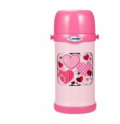 ZOJIRUSHI 象印  MC60 儿童不锈钢保温杯 粉色 600ml