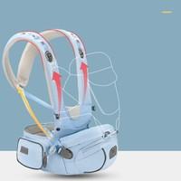 New bealer 纽贝乐 婴儿背带腰凳 清新蓝 DN212-C
