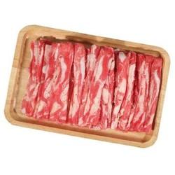 汇柒鲜 上脑肥牛切片 400g/袋 *5件