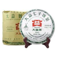 大益 普洱茶 生茶 青饼 357g*7饼