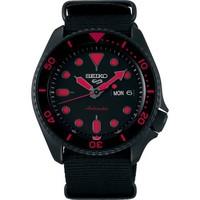 精工SEIKO-Seiko 5系列 SRPD83K1 黑红蛟龙 自动机械男表
