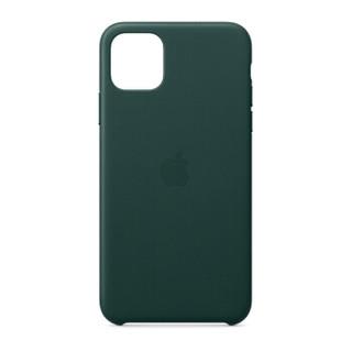 Apple 苹果 iPhone 11 Pro Max 皮革保护壳 松林绿色