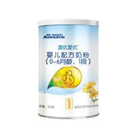 澳优 Ausnutria 金装优选爱优 1段 0-6个月 婴儿配方奶粉 120g/罐