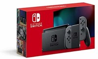 Nintendo 任天堂 Switch 游戏机 掌机 Joy-Con(L) 新版更长续航时间 灰色