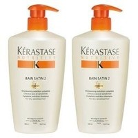 银联专享:KÉRASTASE 卡诗 滋养恒护洗发水2号 500ml*2瓶装
