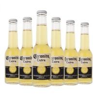 Corona 科罗娜 黄啤酒 (207ml、6、瓶装)