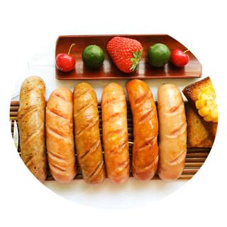 大红门 秘制烤肠 4种口味 1Kg *5件