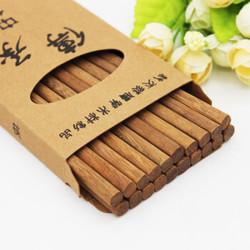 红铁木筷子原木筷子 10双