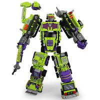 新森宝 兼容乐高积木变形机器人金刚机甲益智拼装儿童玩具塑料男孩子6-14岁 积变大力神整套六盒