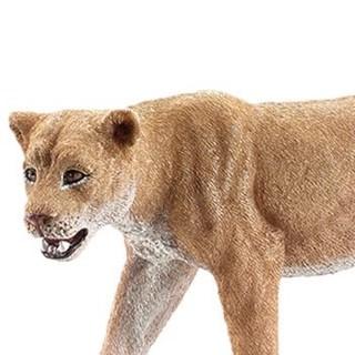 思乐儿童玩具男孩女孩仿真动物模型早教认知野生动物系列母狮14712 *3件