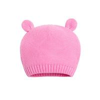 Bornbay贝贝怡0-6岁宝宝帽冬季保暖男女童针织毛线帽婴儿套头帽子 *4件