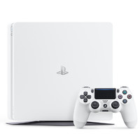 SONY 索尼 PlayStation系列 PlayStation 4(PS4) 家用游戏机 白色 500GB 日版