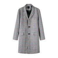 Semir 森马  10-018101053 男士格纹大衣