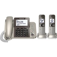 Panasonic松下KX-TGF352N 有线/无线电话 一拖二 套装