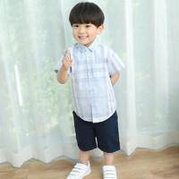 网易严选 0-3岁 小绅士直筒五分裤(男婴童)
