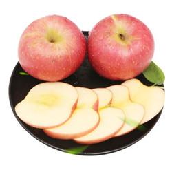 水果蔬菜 陕西红富士苹果10斤 净果 9斤 大果75-80mm