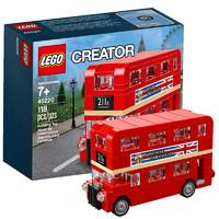 LEGO乐高创意小颗粒 40220 伦敦巴士