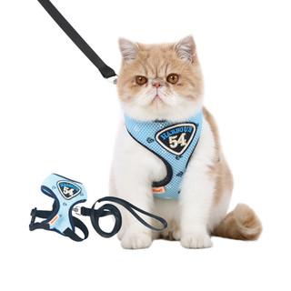 hoopet 华元宠具 华元猫咪胸背带套装 拴猫绳溜猫绳