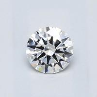 Blue Nile 0.50克拉 圆形切割钻石(切工EX,成色D,净度VVS2)