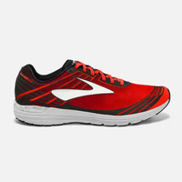 Brooks 布鲁克斯 Asteria 男子轻质运动耐磨防滑透气保护舒适跑步鞋 红/白色 标准47.5/US13