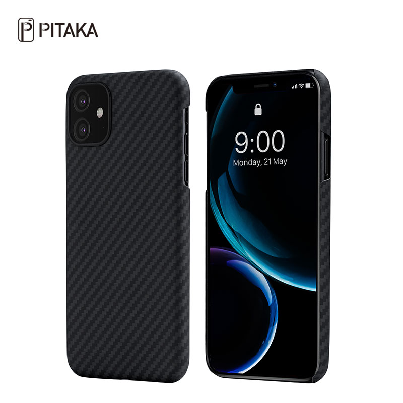 PITAKA iPhone11 6.1寸凯夫拉防摔保护壳